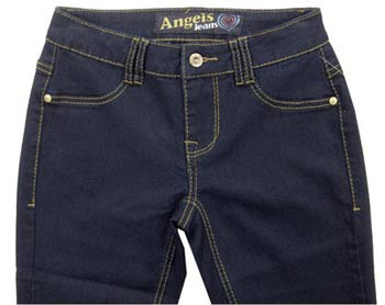Angels Soft Stretch Dark Skinny Jean