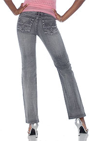 GLO Gray Jeans Straight Leg
