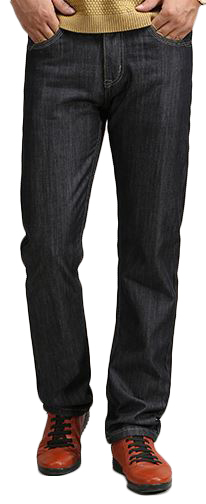TFX Men's Shiny Dark Wash Jean