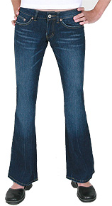 Angels 5-Pocket Dark Jeans