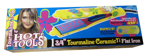 Hot Tools  1 3/4″ Tourmaline Ceramic Flat Iron