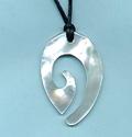 Stylized Fish Hook Necklace
